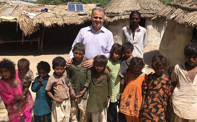 Sima Fund Management in off-grid solar System